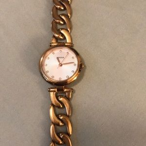 Fossil Watch with rhinestone details